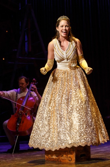 Laurie Veldheer as Cinderella in 'Into The Woods'