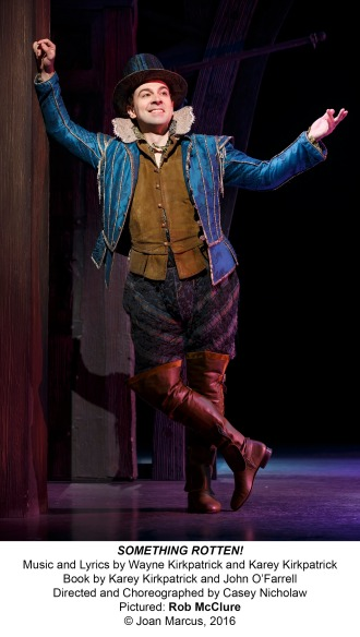 Something Rotten Brad Oscar Rob McClure
