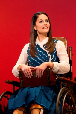 Catherine Charlebois as Nessarose (photo by Joan Marcus)