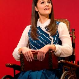 Catherine Charlebois as Nessarose (photo by Joan Marcus)