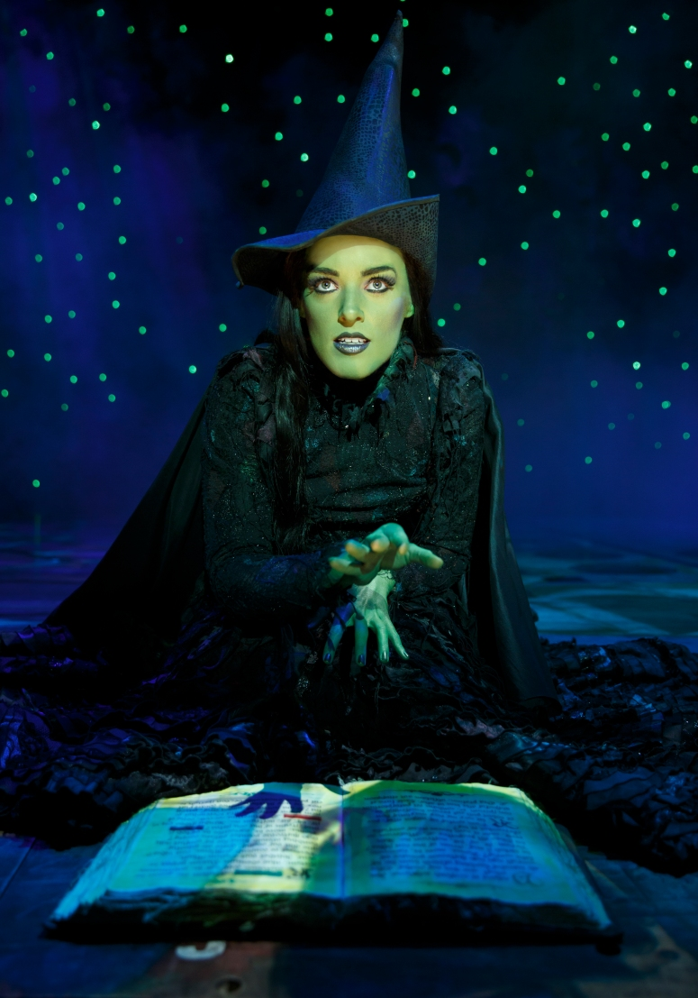 Mary Kate Morrissey as Elphaba - photo by Joan Marcus
