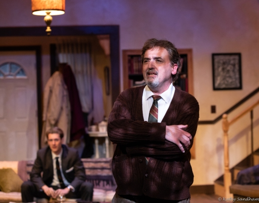 Daniel Telford (Nick), Michael Mauldin (George) Photo credit Kathy Sandh...