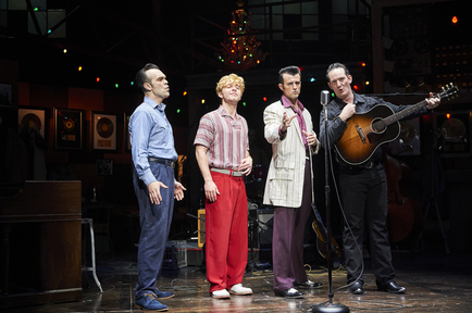 From left - The quartet (James Barry, Gabe Aronson, Sean Michael Buckley and Sky Seals)