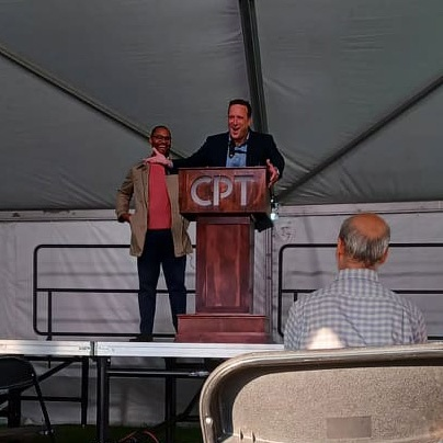 Kevyn R. Shaw (L) & Philip M. Oliss (R) - Board of Directors (CPT)